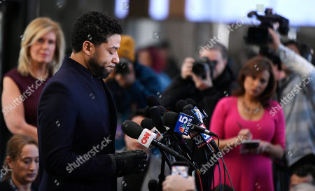 Jussie Smollett charges dropped Chicago Stock Photos (Exclusive