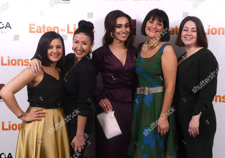 Editorial image of 'Eaten by Lions' film premiere, London, UK - 26 Mar 2019