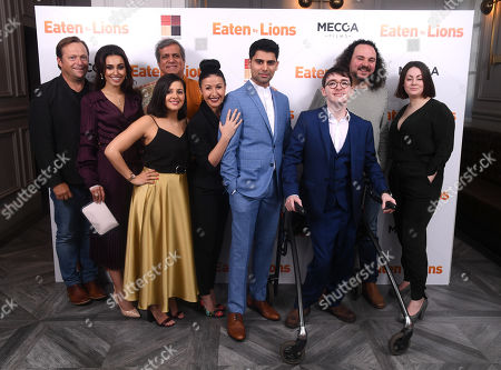 Editorial photo of 'Eaten by Lions' film premiere, London, UK - 26 Mar 2019