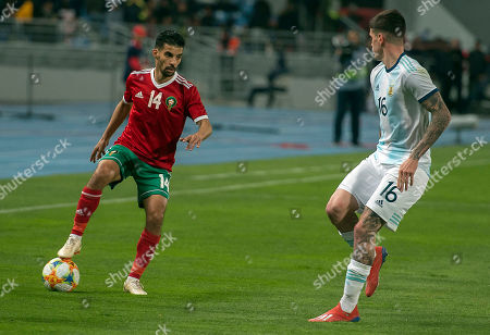Editorial image of Morocco vs Argentina, Tangier - 26 Mar 2019
