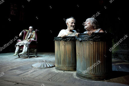 Editorial photo of 'Endgame' play by Samuel Beckett performed at the Duchess Theatre, London, Britain - 14 Oct 2009