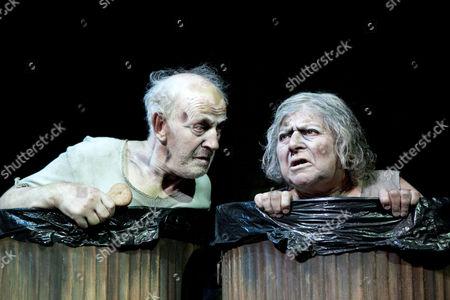 Stock Image of Tom Hickey (Nagg), Miriam Margolyes (Nell)