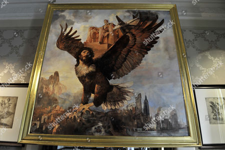 Stock Image of 'Lincoln Eagle' by Wolfe Von Lenkiewicz, 2009