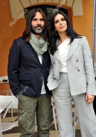 Khaled Mouzanar and Nadine Labak