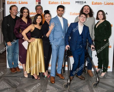 Editorial photo of 'Eaten by Lions' film premiere, London, UK - 26 Mar 2019