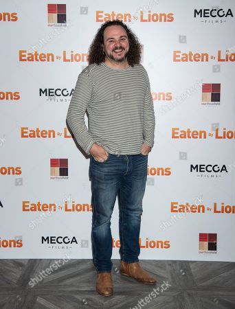Editorial picture of 'Eaten by Lions' film premiere, London, UK - 26 Mar 2019