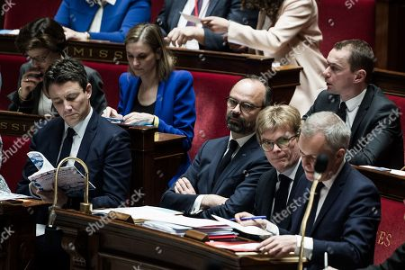 Editorial picture of French National Assembly, Paris, France - 26 Mar 2019