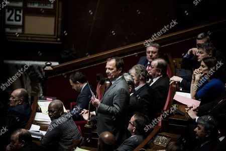 Editorial photo of French National Assembly, Paris, France - 26 Mar 2019