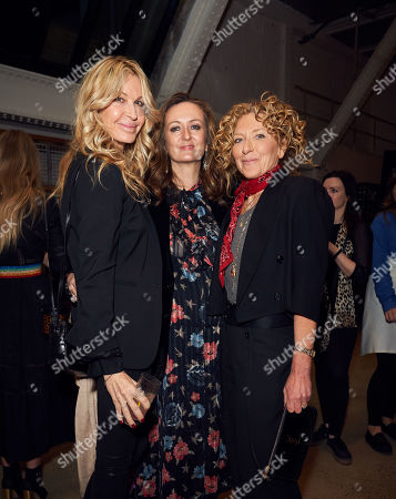 Stock Photo of Melissa Odabash, Lucy Yeomans and Kelly Hoppen MBE