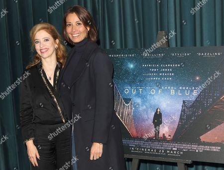 Stock Photo of Carol Morley and Melanie Sykes