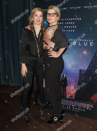 Carol Morley and Paloma Faith