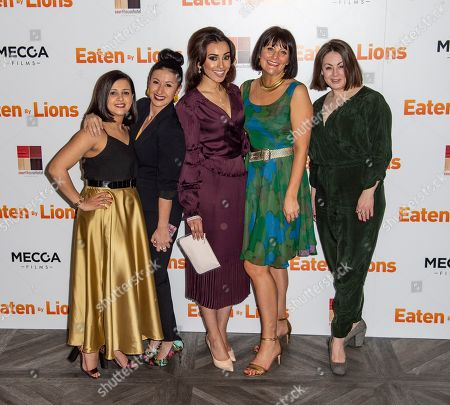 Stock Picture of Natalie Davies, Hayley Tamaddon, Shila Iqbal, Hannah Stevenson and Sarah Hoare