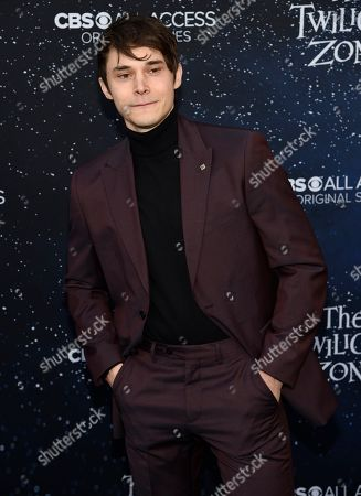 """Stock Image of Jonathan Whitesell arrives at the Los Angeles premiere of """"The Twilight Zone"""" at Harmony Gold on"""