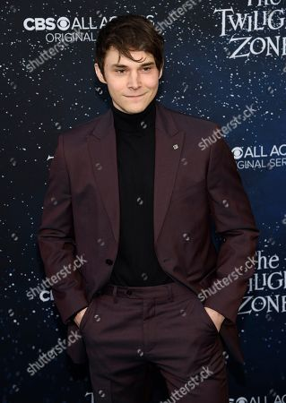 """Jonathan Whitesell arrives at the Los Angeles premiere of """"The Twilight Zone"""" at Harmony Gold on"""