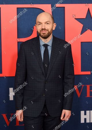 """Paul Scheer attends the premiere of the final season of HBO's """"Veep"""" at Alice Tully Hall, in New York"""