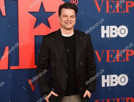 "Alex Gregory attends the premiere of the final season of HBO's ""Veep"" at Alice Tully Hall, in New York"