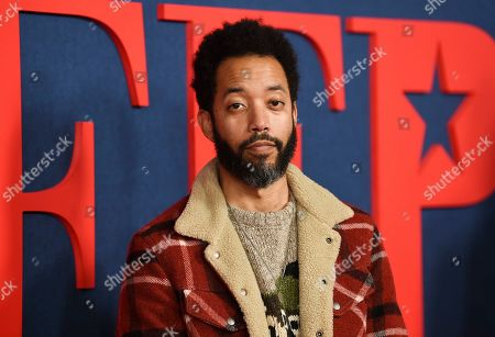 """Wyatt Cenac attends the premiere of the final season of HBO's """"Veep"""" at Alice Tully Hall, in New York"""