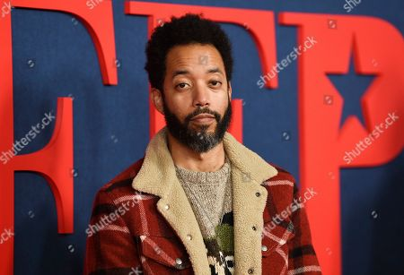 "Wyatt Cenac attends the premiere of the final season of HBO's ""Veep"" at Alice Tully Hall, in New York"