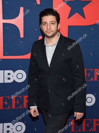 """John Magaro attends the premiere of the final season of HBO's """"Veep"""" at Alice Tully Hall, in New York"""