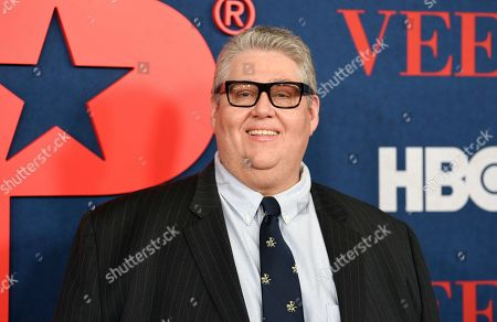 "Writer, director, executive producer and showrunner David Mandel attends the premiere of the final season of HBO's ""Veep"" at Alice Tully Hall, in New York"