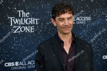 """James Frain arrives at the Los Angeles premiere of """"The Twilight Zone"""" at Harmony Gold on"""