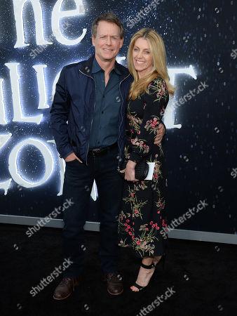 Greg Kinnear and wife Helen Labdon