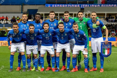Editorial picture of Italy v Liechtenstein, Uefa European Championship, Parma, Italy - 26 Mar 2019