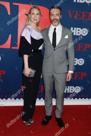 Elspeth Keller and Reid Scott