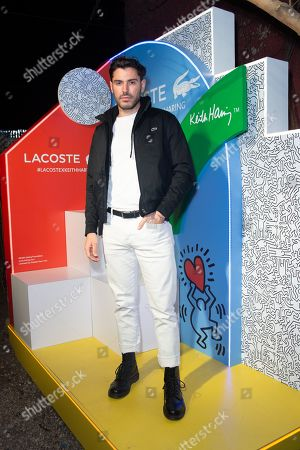 Editorial picture of Lacoste x Keith Haring Global Collection launch, New York, USA - 26 Mar 2019