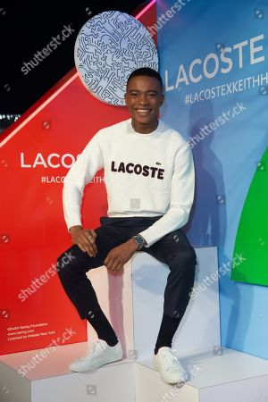 Editorial photo of Lacoste x Keith Haring Global Collection launch, New York, USA - 26 Mar 2019