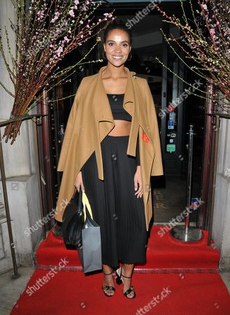 Editorial picture of AMA Bags Launch Party, London, UK - 26 Mar 2019