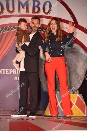 Editorial picture of 'Dumbo' film premiere, Rome, Italy - 26 Mar 2019
