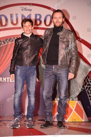Giorgio Marchesi and son