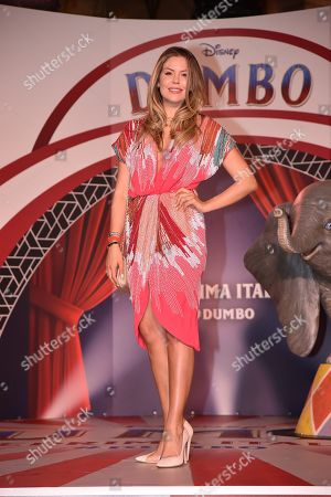 Editorial image of 'Dumbo' film premiere, Rome, Italy - 26 Mar 2019