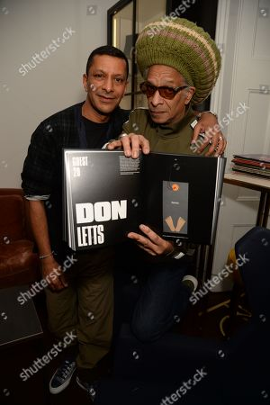 Raoul Shah and Don Letts