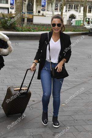 Stock Image of Sam Faiers at Heart FM