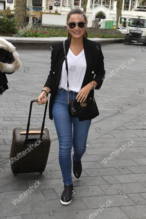 Stock Picture of Sam Faiers at Heart FM