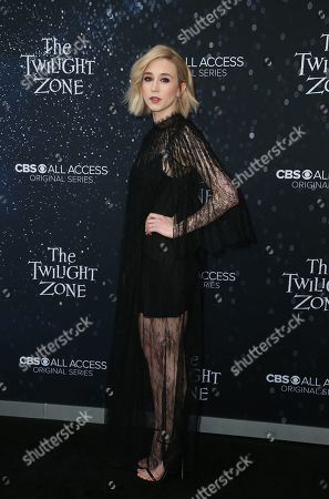 Editorial picture of 'The Twilight Zone' TV show premiere, Los Angeles, USA - 26 Mar 2019