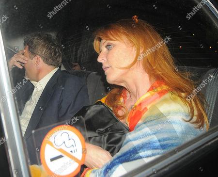 Sarah Ferguson, Duchess of York and boyfriend Geir Frentzen