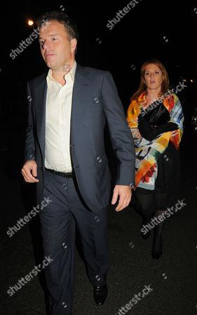 Stock Photo of Sarah Ferguson, Duchess of York  and boyfriend Geir Frentzen