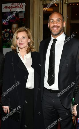 Stock Picture of Valerie Trierweiler, Romain Magellan