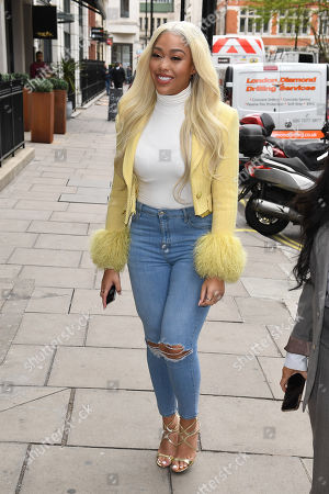 Editorial photo of Jordyn Woods out and about, London, UK - 27 Mar 2019