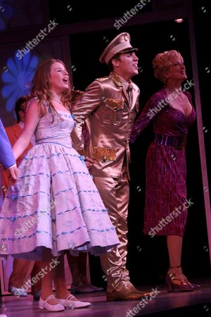 Editorial picture of 'Bye Bye Birdie' musical opening night at Henry Miller's Theatre, New York, America - 15 Oct 2009