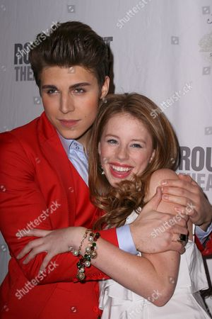Editorial image of 'Bye Bye Birdie' musical opening night at Henry Miller's Theatre, New York, America - 15 Oct 2009