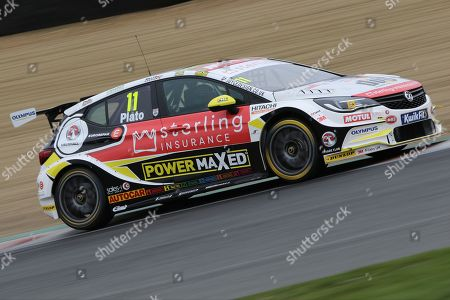 Jason Plato - Sterling Insurance with Power Maxed Racing - Vauxhall Astraduring the 2019 Media Day at Brands Hatch, Fawkham