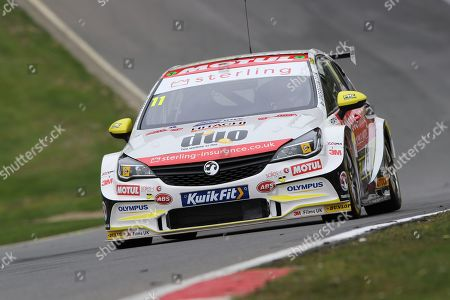 Jason Plato - Sterling Insurance with Power Maxed Racing - Vauxhall Astra during the 2019 Media Day at Brands Hatch, Fawkham