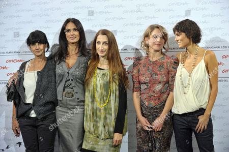 Donatella Maiorca, Maria Grazia Cucinotta, Giselda Volodi, Isabell Aragonese and Valeria Solarino