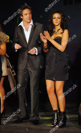 Michelle Keegan and Andrew Moss