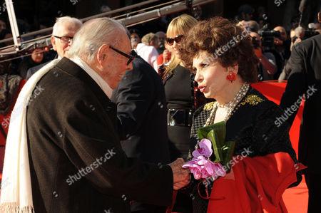 Gianluigi Rondi and Gina Lollobrigida