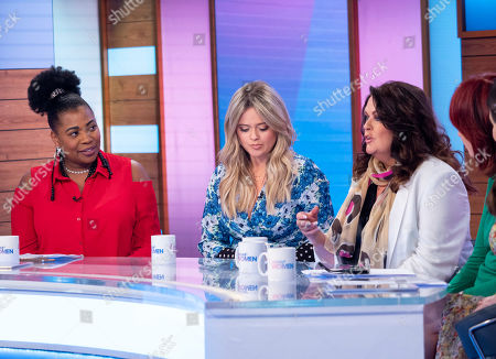 Brenda Edwards, Emily Atack, Kate Robbins, Janet Street-Porter and Stacey Solomon